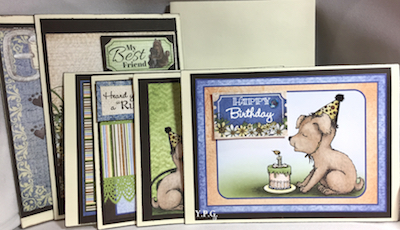 Doggie Bag Greeting Cards