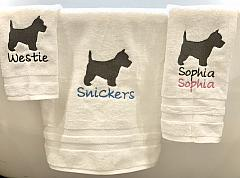 Towels-ALL BREEDS Personalized