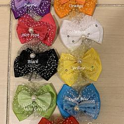 Bows PEARL TULLE  (Set of 2)
