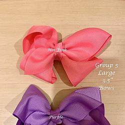Bows LARGE Solid